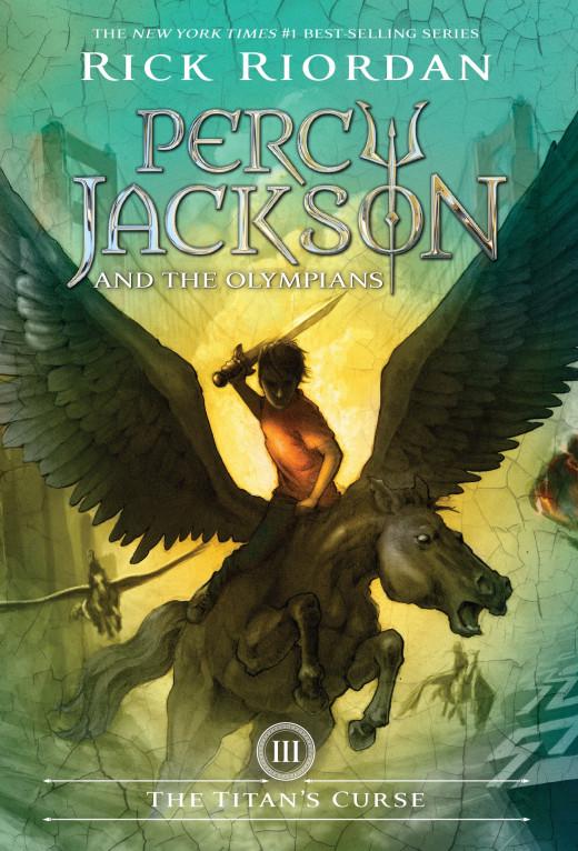 The Titan's Curse Book Cover