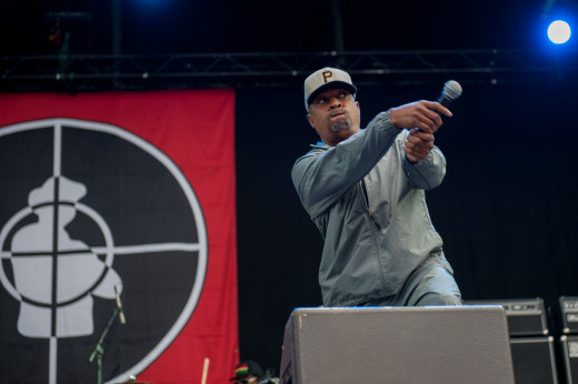 Chuck D from Public Enemy.