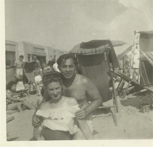Zeyda and Bubbie circa 1946-1947