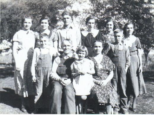 The Children of Lonnie and Ella May Morton