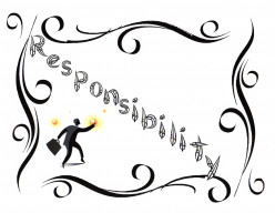 "Responsibility – Teach Responsibility, the 27th Word In the ""Good Words Project"""