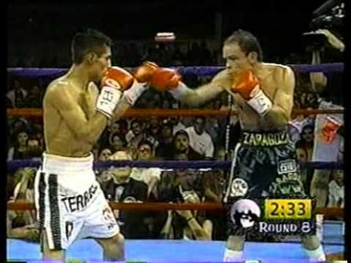 El Terrible knocked out Daniel Zaragoza in 11 rounds to win his first major world title.