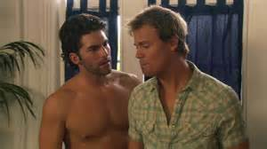 Tension mounts between estranged lovers Charlie Daniel and Gregory Michael in Dante's Cove