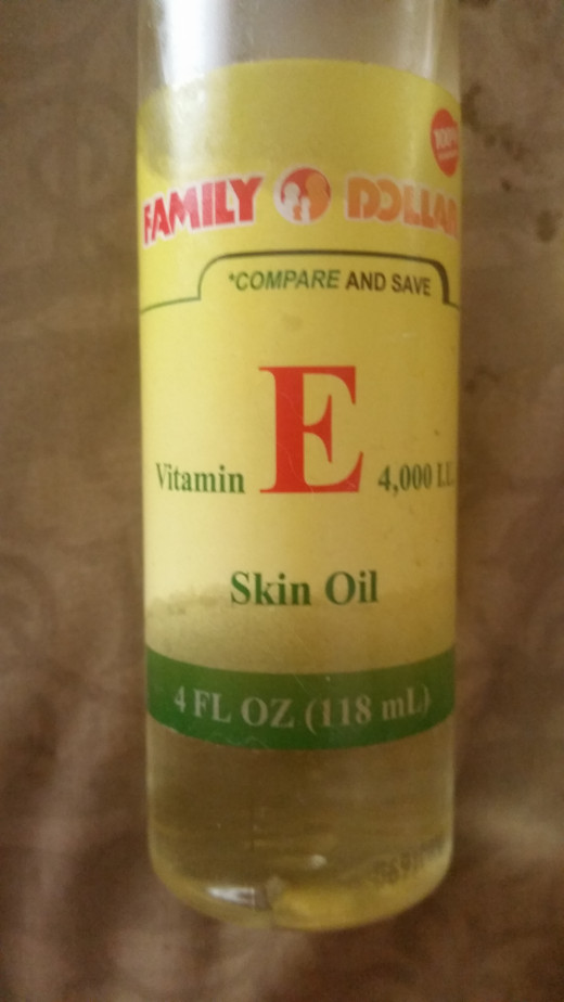 Vitamin E oil with Tocopheryl Acetate is the best Vitamin E to use on the skin