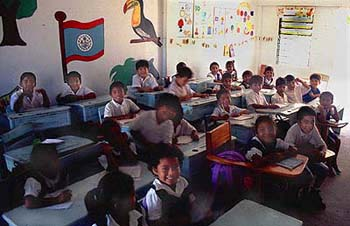 Classroom in Belize... are they participating in your global village?