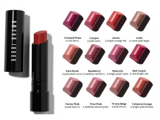 The Creamy Matte Lip Color Collection by Bobby Brown.