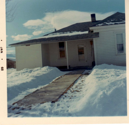 Home where my grandmother raised five children. Rek