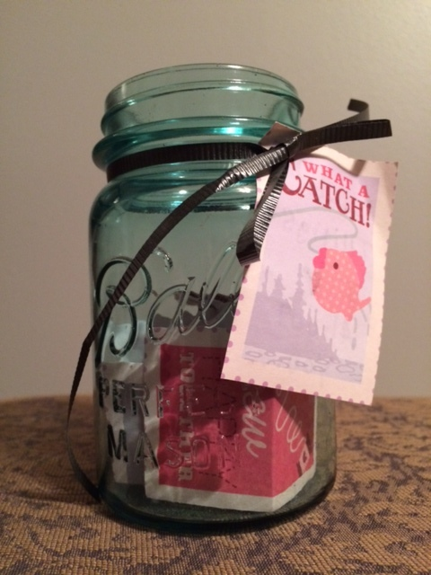 Homemade I Love You Jar