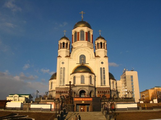 The church erected over the Impatiev House