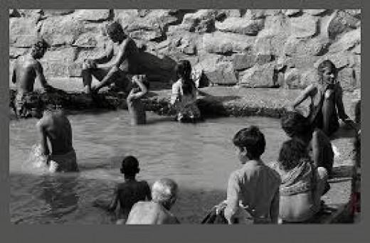 Hot Springs Public Bath Rajgir