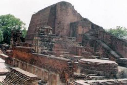 Nalanda University Ruins Near Bodh Gaya