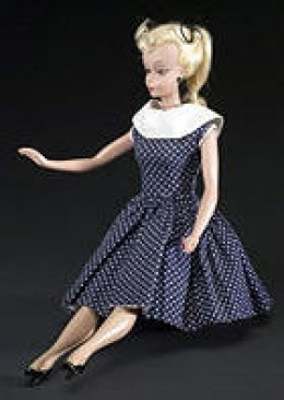 The Lilli German doll 1955. Pre-Barbie
