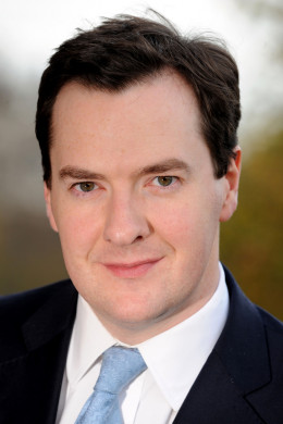 George Osborne Chancellor of the Exchequer
