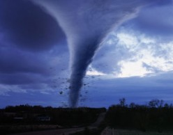 Tornado's are both beautiful and terrifying.
