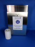 Sanitary napkin disposal that reduces cross contamination