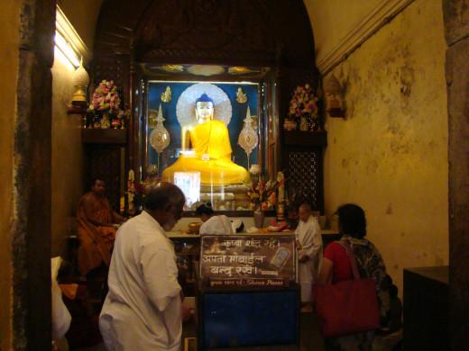Inside The Mahabodhi Temple, Bodh Gaya