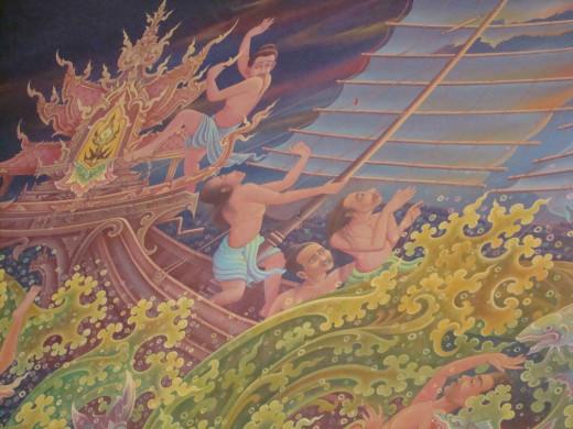 Mural Thai Temple, Bodh Gaya