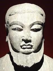 Lau Tzu stone image