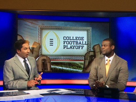 Anish Shroff and Kevin Carter from ESPN College Football discuss the College Football Playoff.