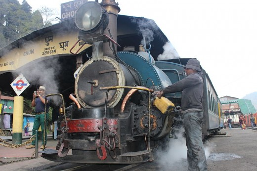 Himalyan Steam Hill Rail