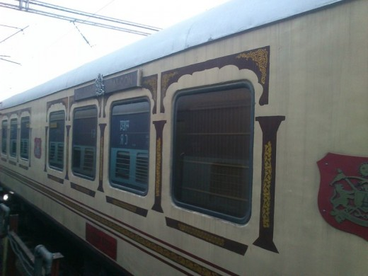 Palace of Wheels Tourist Train in India