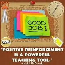 What could be the best technique that we can utilize to put positive reinforcement for more effective classroom discipline?
