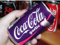 Does anyone else find the thought of garlic flavored Coca-Cola gross & disgusting?