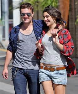 Hutcherson and Claudia Traisac