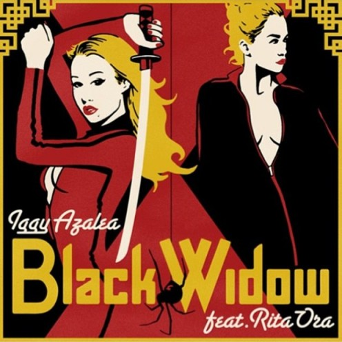 With a chorus written by the obvious hit-maker Katy Perry, Black Widow is a sure bet to hit #1 around the globe!