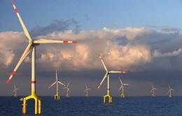 Bard 1 Wind Farm in the North Sea