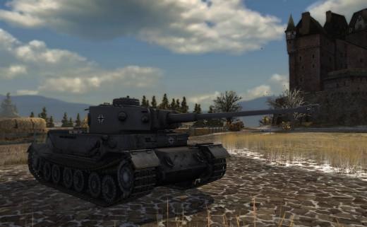 World of Tanks - German Tiger
