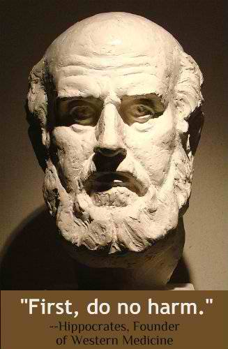 Hippocrates (460-377 B.C.)  changed healing from an occult art into a science teaching that illness was due to natural causes and curable by natural means.