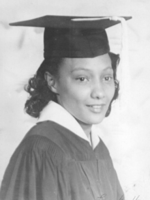 Ada's graduation photo