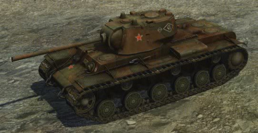 World of Tanks - Soviet Heavy Tank KV-1