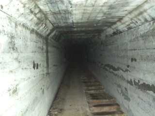 Haunted places in America. Waverly Hills. The Death Tunnel