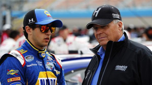 Rick Hendrick is fast approaching a point of no return with the success of Chase Elliott