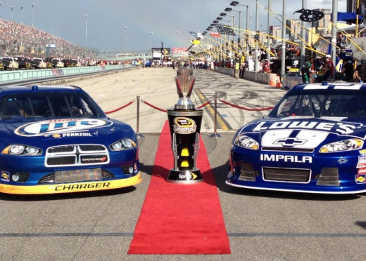 Keselowski is the only driver who's gone toe-to-toe with Jimmie Johnson-and won- during the Chase era