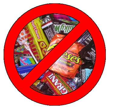 No candy for pets!