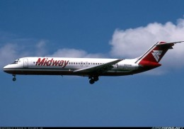 Midway Airlines DC-9