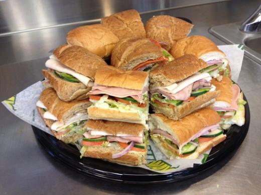 Subway Variety Platter
