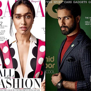 The Haider couple, Shahid Kapoor and Shraddha Kapoor, is now on the cover of the September issues of the following magazines! Their movie Haider which also stars Tabu & Kay Kay Menon, is based on William Shakespeare's Hamlet and is majorly shot.
