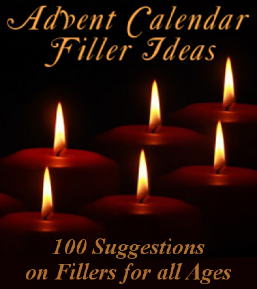 100 ideas for advent calendar fillers for Advent crafts for adults