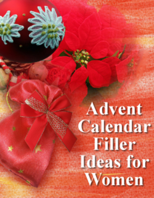 Advent Calendar Ideas For Girls : Ideas for advent calendar fillers