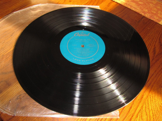 "The Les Baxter ""Thinking of you"", Capitol Record was recorded with the most advanced electronic techniques. It was pressed to the most exciting manufacturing specifications."