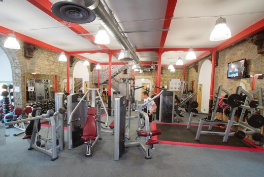 Typical Gym for Strength Athletes