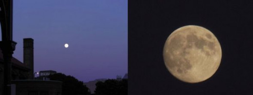 Portland Full Moon, photos by Relache