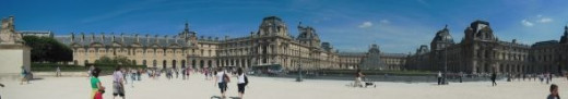 Louvre panorama, photo by Relache