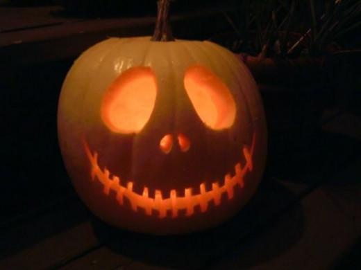 Jack, lit at night!