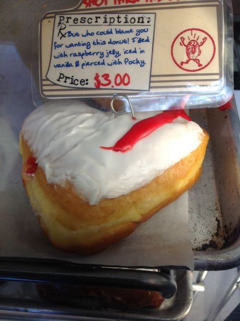 Bleeding Heart donut