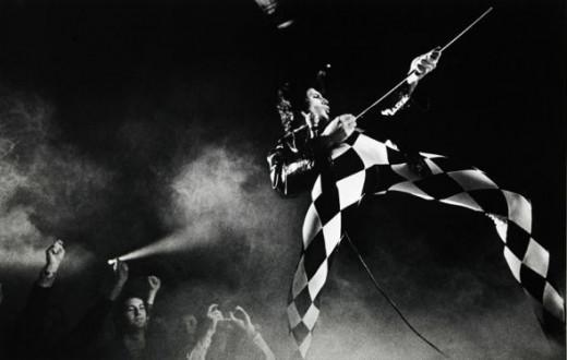 Freddie's harlequin jumpsuit